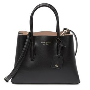 KATE SPADE Small Leather Black Satchel